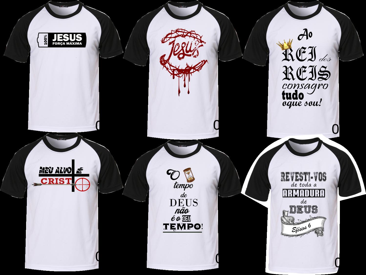 d6c527bc15 Camiseta Evangélica - Moda Gospel Camisetas Com Frases Evangelicas