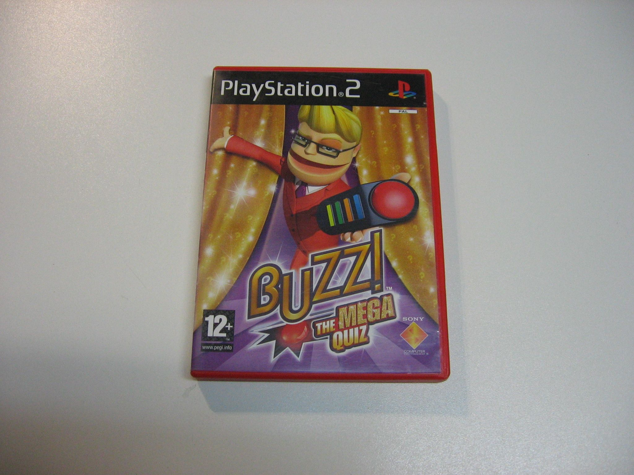 Buzz The Mega Quiz Gra Ps2 Opole 0697 Quiz Playstation 2 Playstation