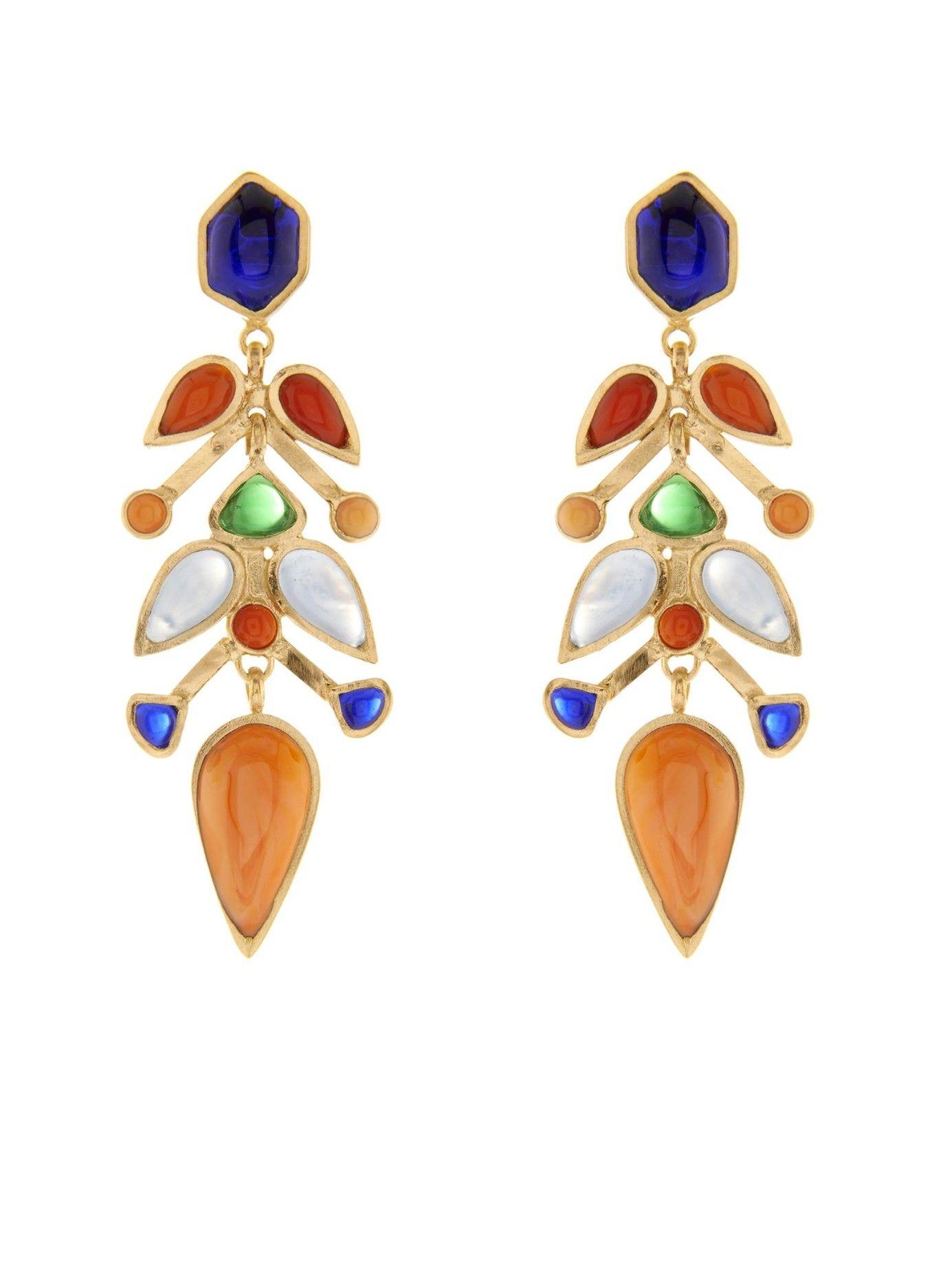 Glass drop earrings | Gripoix | MATCHESFASHION.COM