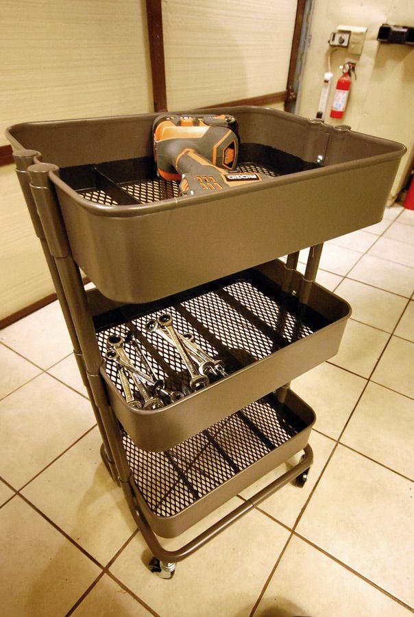 Ikea Raskog Mobile Tool Cart Ikea Raskog Ikea Cart Ikea