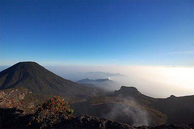 Mount Gede Pangrango West Java Indonesia Tempat Liburan Liburan Indonesia