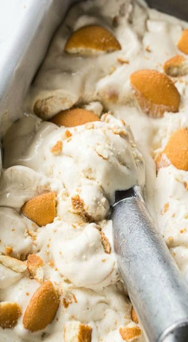 Banana Pudding Ice Cream Recipe - Spicy Southern Kitchen