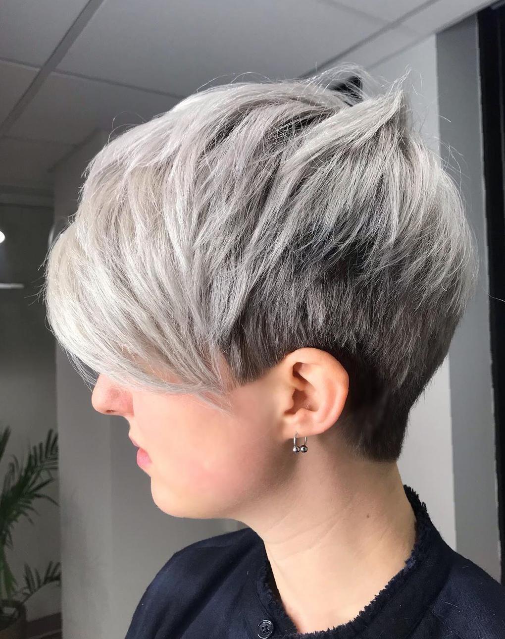 Asymmetrical Pixie Cut 2020 : asymmetrical, pixie, Haircuts