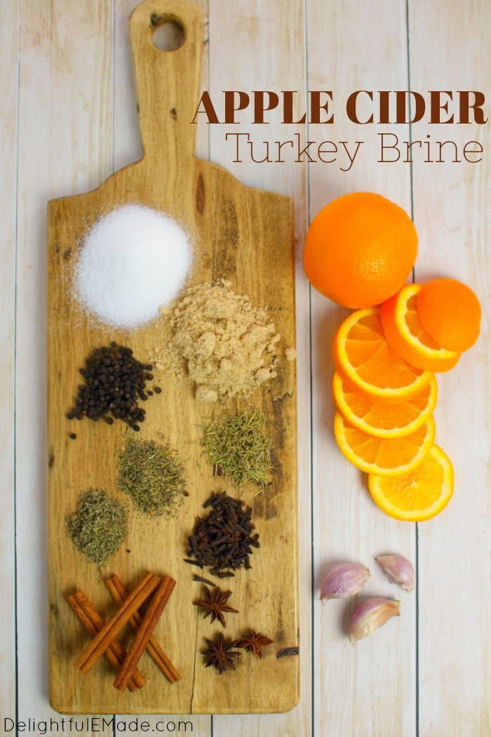 Apple Cider Turkey Brine