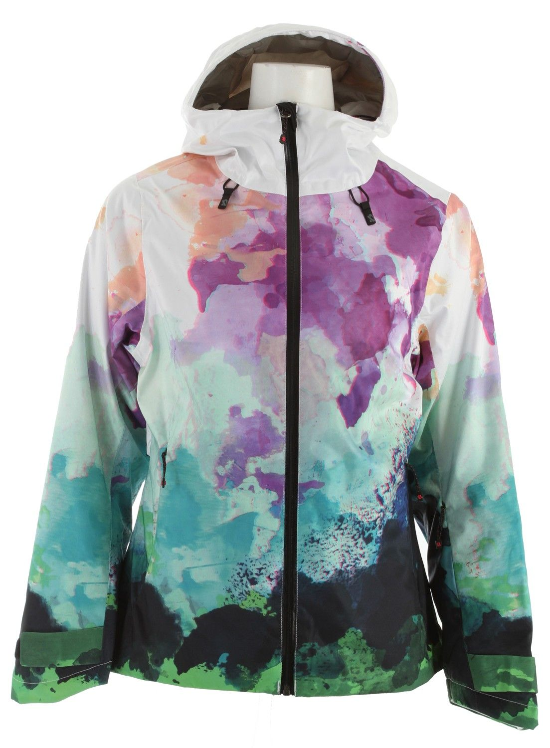 4d36b61d8d Volkl Manu Ski Jacket Watercolors Print - Women s