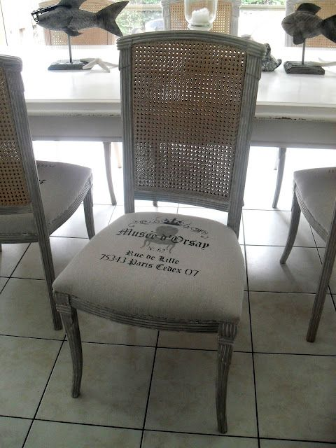 Upholstered Chair Using Painter S Drop Cloth Redo