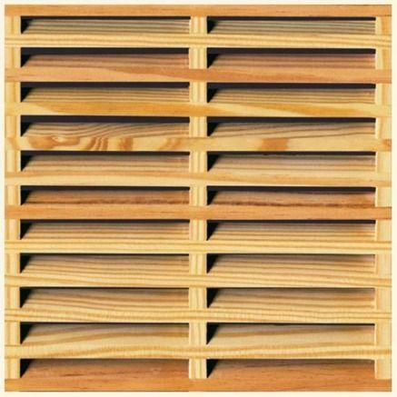 celosias de madera pvc y polietileno reforma