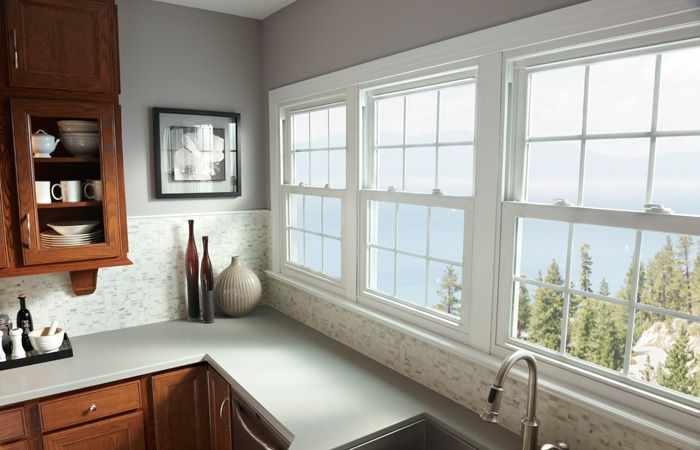 Vinyl Windows That Provide Style For Kitchen Remodels Classic