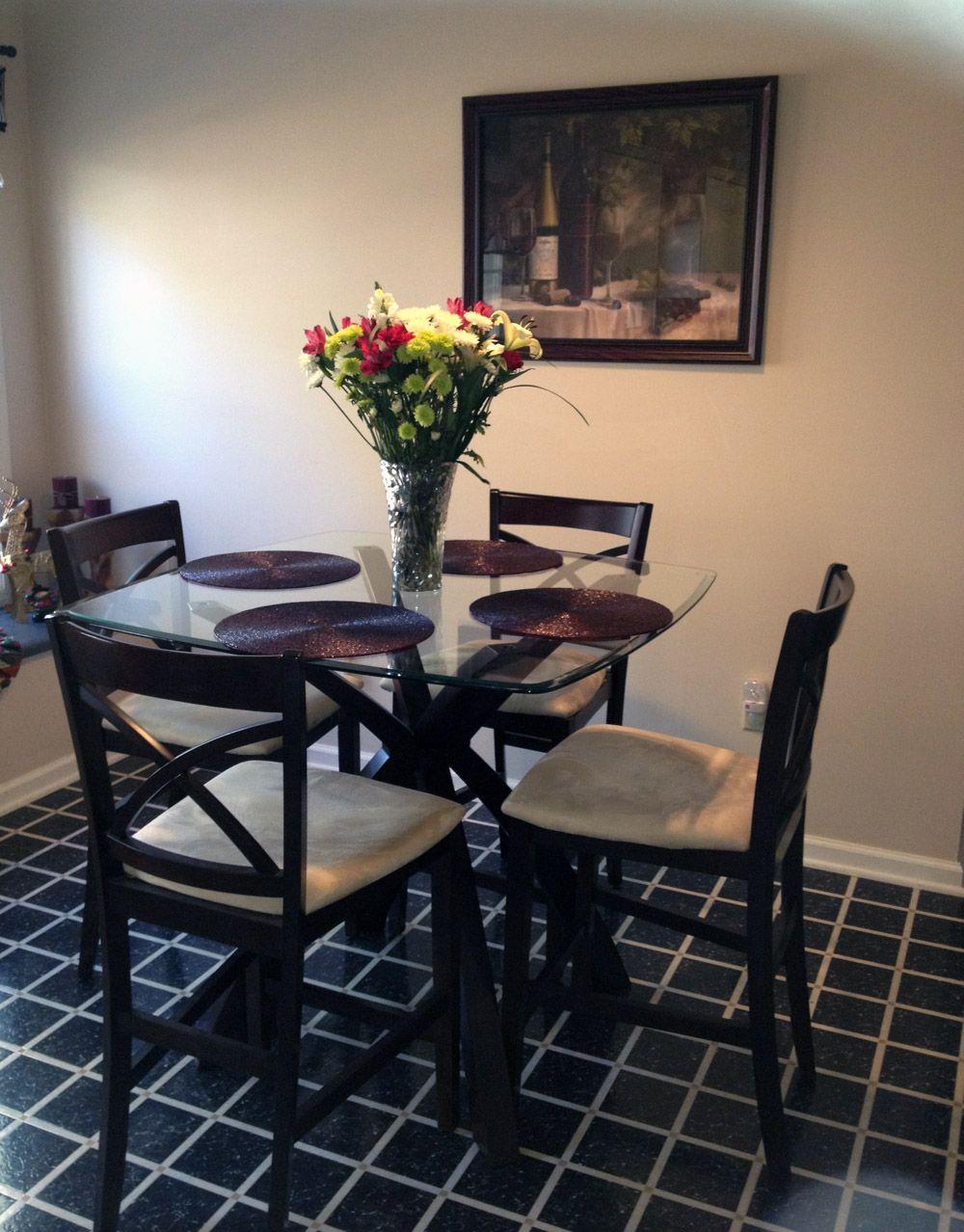 Small dining table hogar pinterest espacios for Comedores pequenos ikea