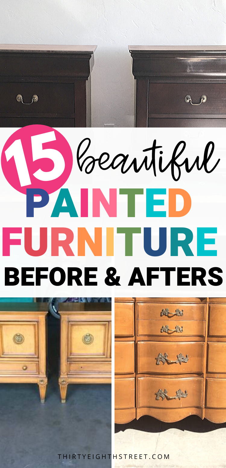 Furniture Refinishing Ideas Repainting Furniture Painting Furniture Diy Diy Furniture Renovation
