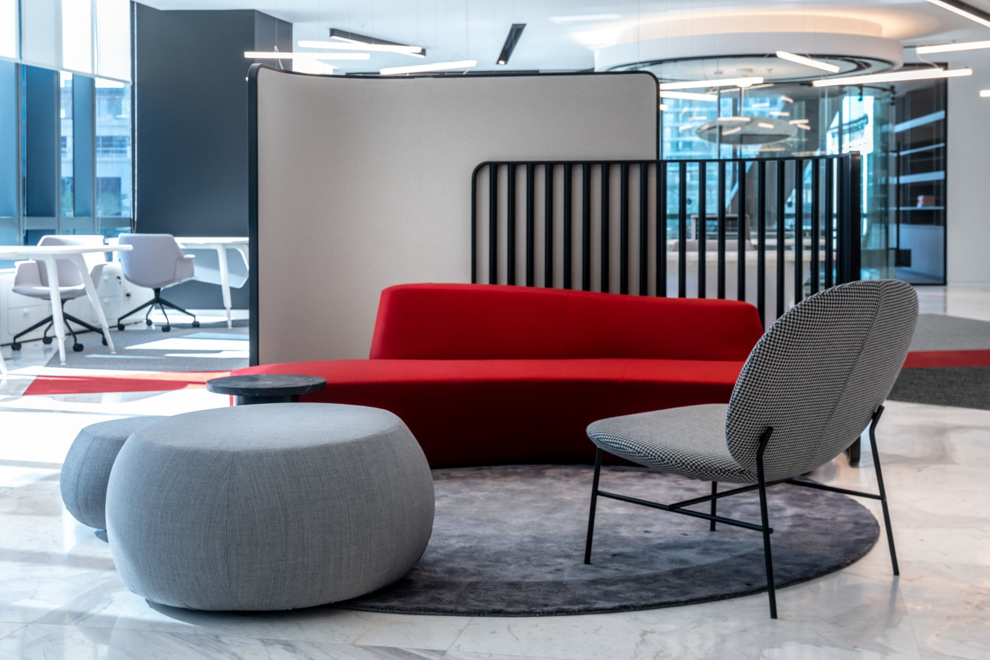 Roar Designs Flexible Work Space Inspired By The Binary Code