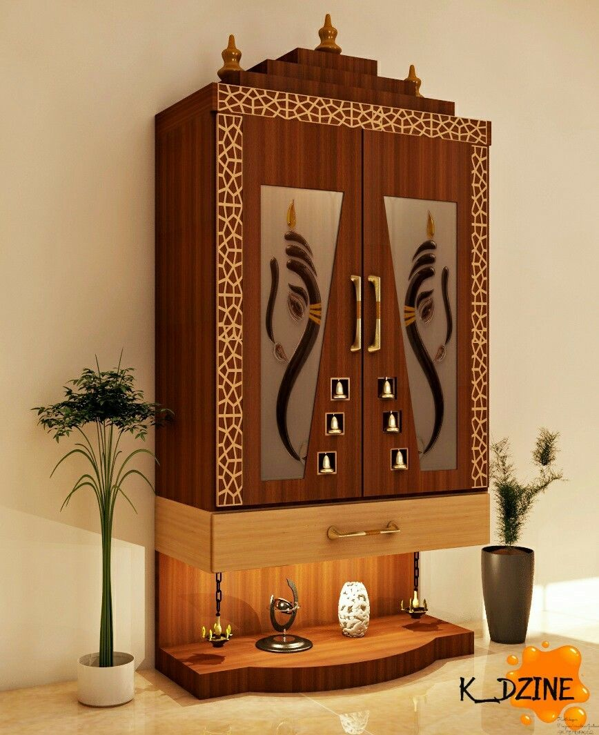 20 Mandir Designs For Indian Homes: Room Door Design, Pooja Room Door Design