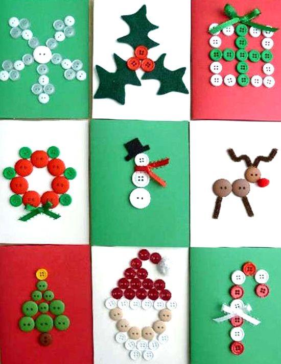 Ideas Para Postales De Navidad Infantiles Regalos Populares De - Ideas-para-tarjetas-de-navidad