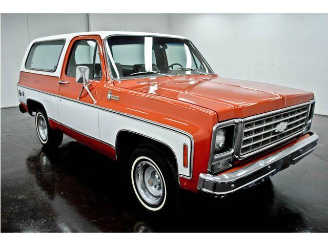 1976 Chevrolet Blazer K5 Cheyenne 2 Wd Turbo 350 Chevrolet