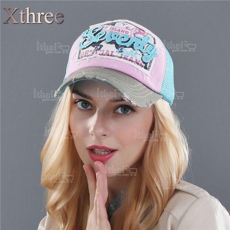 XTHREE Marka Unisex Yüksek Kaliteli Beyzbol Şapka Modelleri ... 1d28857ed06d