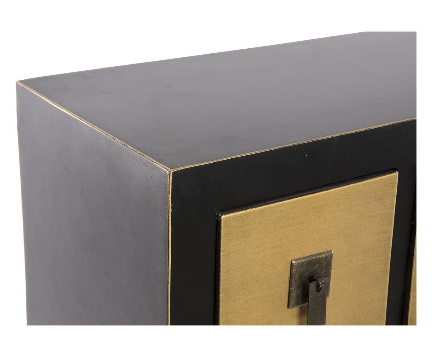 Mobili Argento ~ Mobile basso a 8 cassetti e 2 ante in mdf tokyo argento 130x51x24