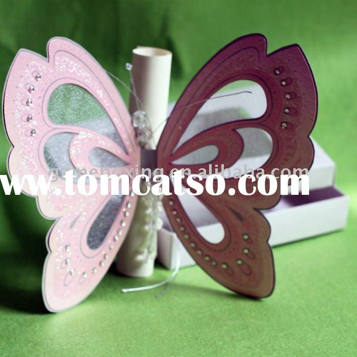 butterfly invitations   Butterfly Wedding Invitations-- T192 ...