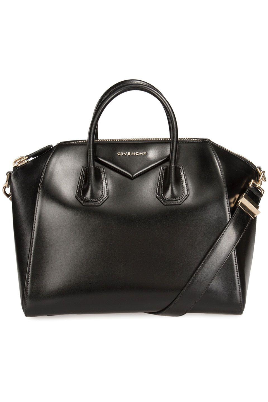 Givenchy - Medium Antigona Satchel in Black