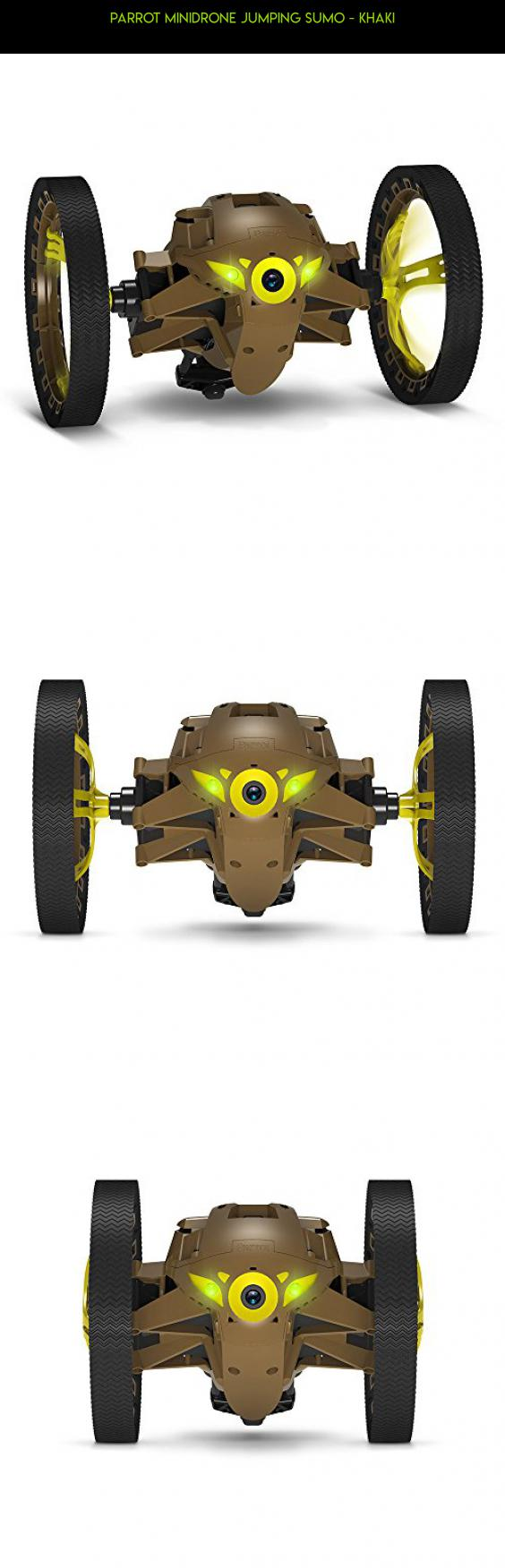 Parrot MiniDrone Jumping Sumo - Khaki #plans #parrot #technology #jumping #drone #products #camera #shopping #kit #drone #racing #tech #gadgets #parts #fpv