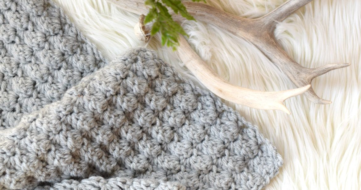 Simple Crocheted Blanket Go - To Pattern – Mama In A Stitch ...