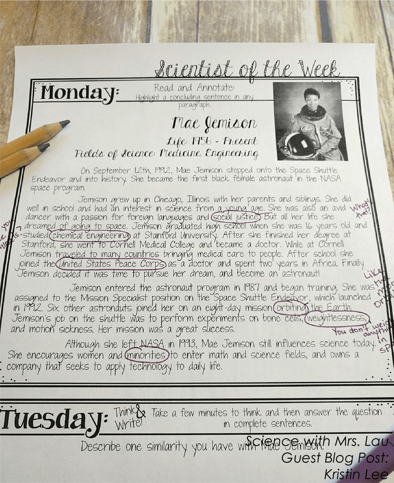 Tips For Teaching Annotation In Science Class