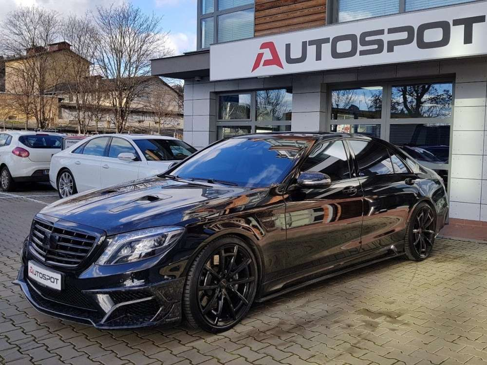 2014 Mercedes Benz S 63 Amg L 4matic Mansory Black Edition 700hpm
