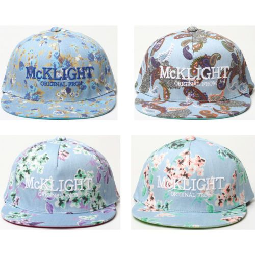 New Flower Print Hip Hop Style Flat Cap Ladies Women Design Snapback Hat H40 | eBay