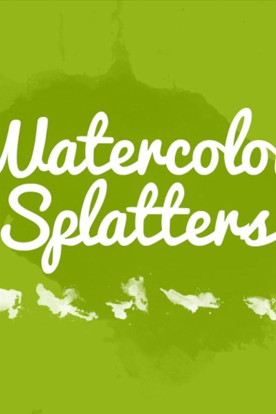32 Watercolor Splatters In 2020 Watercolor Splatter Free Paper