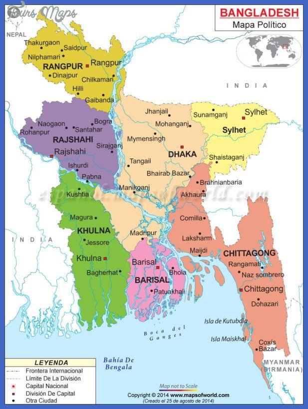 Bangladesh Metro Map Httptoursmapscombangladeshmetromap - Tangail map