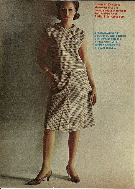 Givenchy Two Piece 1963