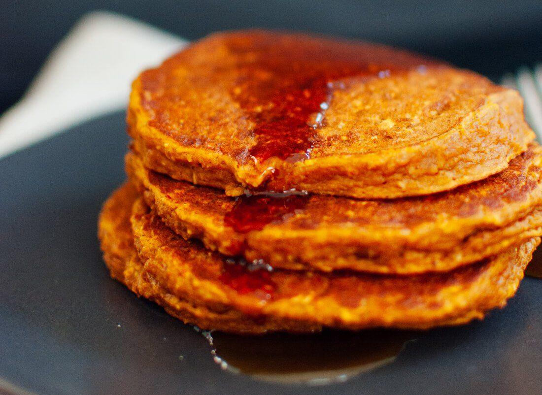 Gluten Free Pumpkin Oat Pancakes Cookie And Kate Recipe Gluten Free Pumpkin Pancakes Pumpkin Recipes Pumpkin Oats