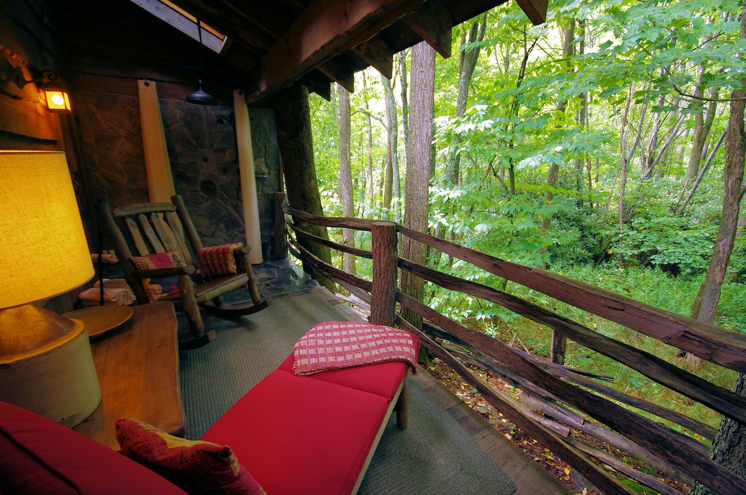 Image result for porch in the mountains