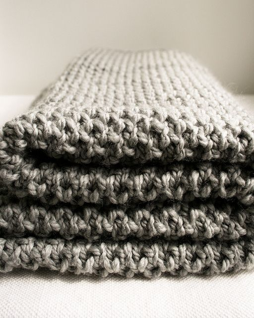 This knitted blanket would be so gorgeous in Whitfell Chunky! http ...