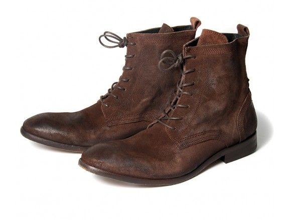 Men's Swathmore (Brown) Suede Ankle Boots | H Shoes