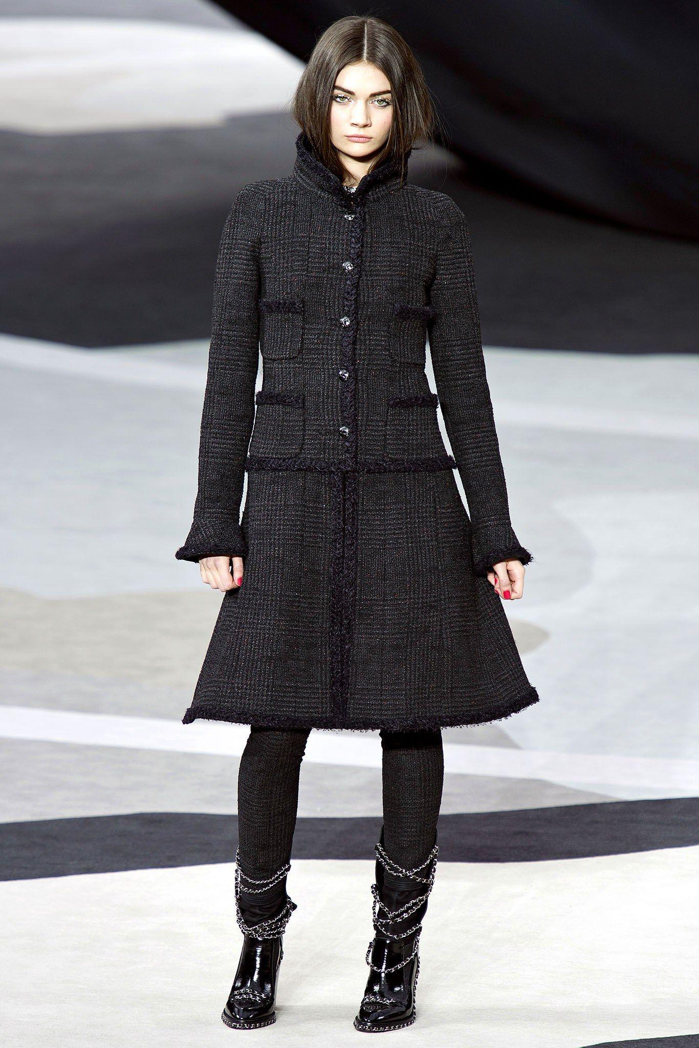 пальто в стиле шанель фото научаться преодолевать свои