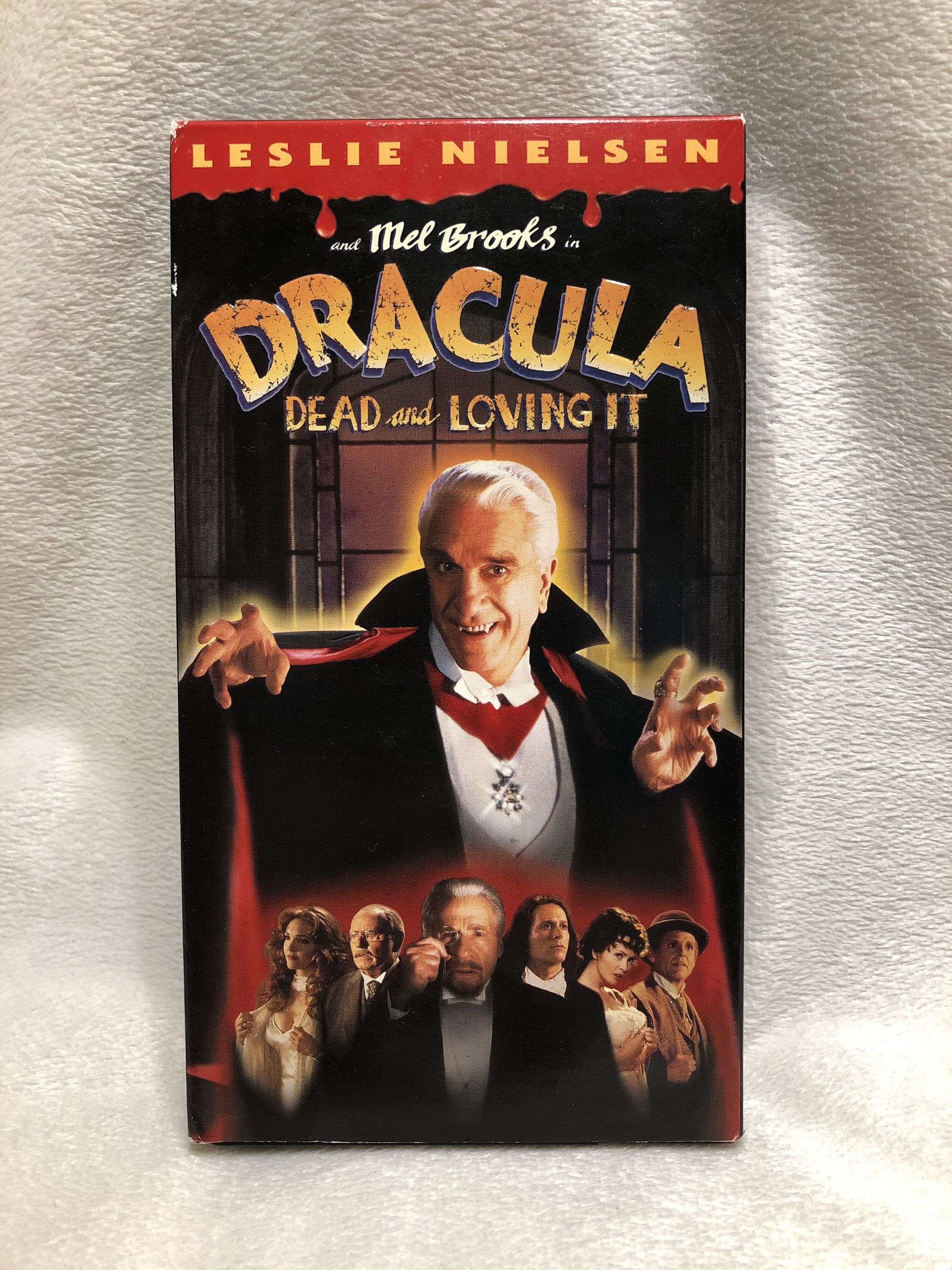 Vintage Dracula Dead and Loving It VHS Movie 1996 1st
