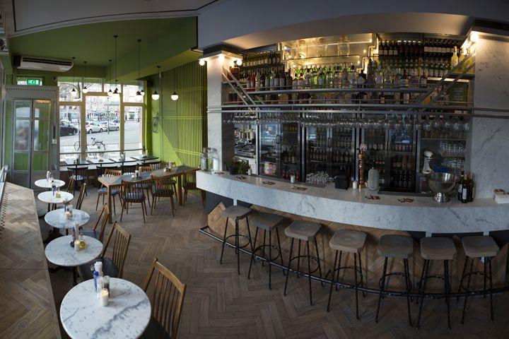 Eddy Spaghetti Restaurant By Studio Modijefsky Amsterdam The Netherlands Retail Design Blog