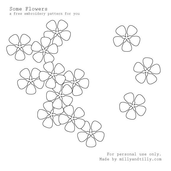 Free Hand Embroidery Flowers Patterns  FLOWER EMBROIDERY