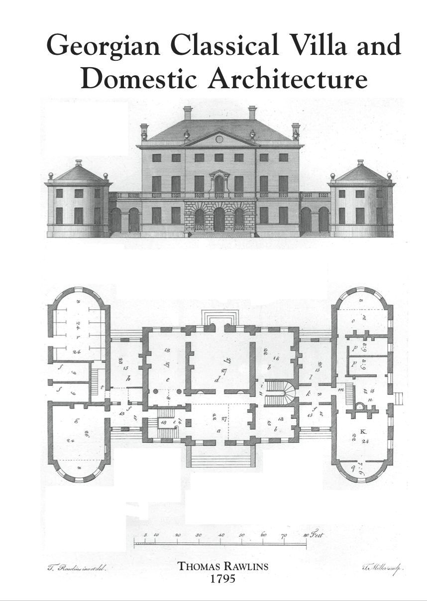 190 Georgian 858 1 207 Pixels Floor Plans