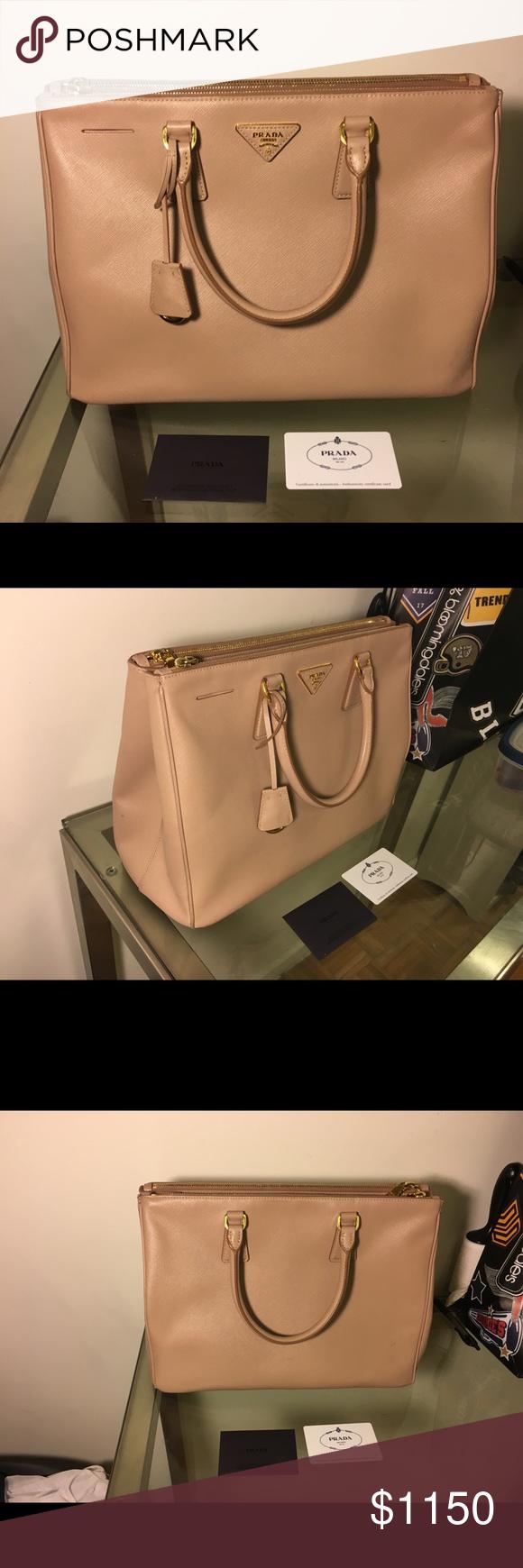 7b1dab6638eba4 ... low cost prada saffiano lux cammeo blush handbag bn 1786 lightly used  prada saffiano lux cammeo