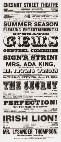 19th Century Wood Type Posters