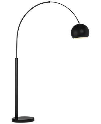 Basque Arc Nickel Floor Lamp In 2020 Floor Lamp