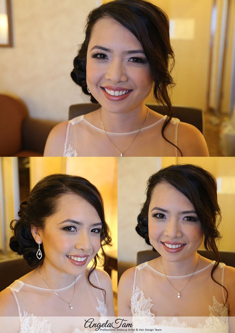 Los Angeles Chinese Vietnamese Wedding Asian Bride Makeup Artist