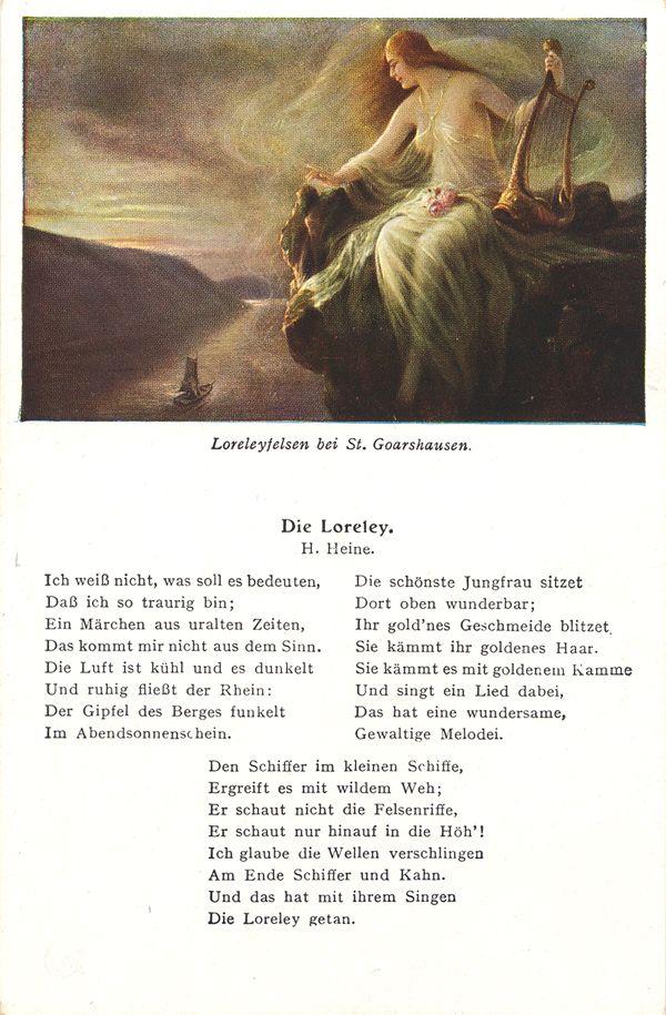 Pin Von Marquita Premo Auf Poems And Literature Heinrich