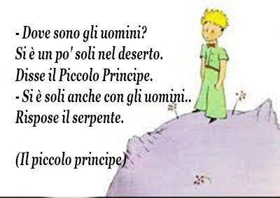 frasi piccolo principe deserto
