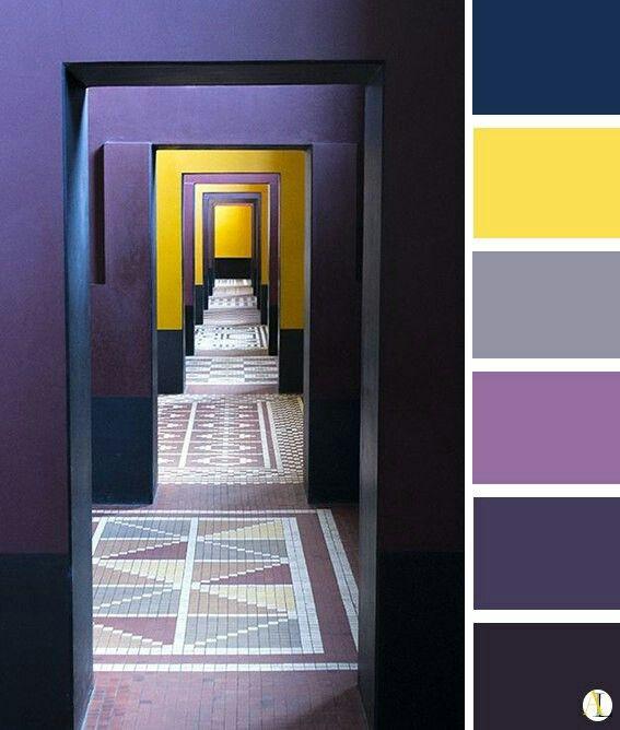 Farbpaletten Blau: Farbkombinationen, Farbpalette Und Farben