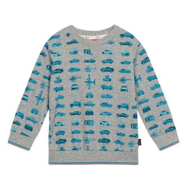 2b6d188198be ... Ted Baker Baby Boys Sweatshirt Top Cars Grey Designer 12-18 Months free  delivery fe010 ...