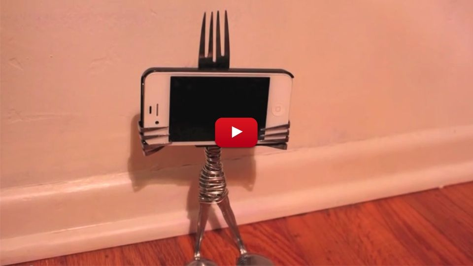 how to build a stand for your phone