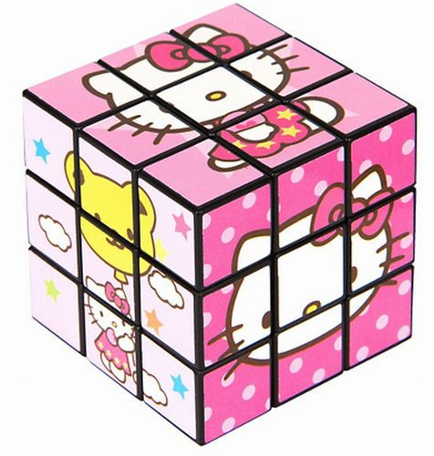 Bin Hello Kitty Puzzle Rubiks Cube Party Favor Stocking Stuffer Toy Sanrio  Cool  492158355b9b6