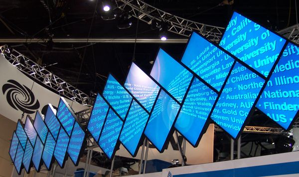 photos 9 incredible video walls commercial integrator infocomm spotlight - Video Wall Design